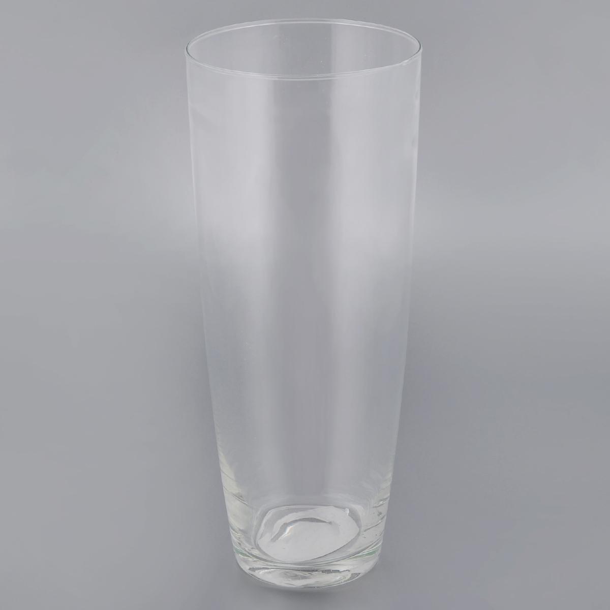 Ваза декоративная Феникс-Презент Нина, высота 29 см40784Элегантная ваза Феникс-Презент Нина выполнена из высококачественного прозрачного стекла. Изделие придется по вкусу и ценителям классики, и тем, кто предпочитает утонченность и изящность. Вы можете поставить вазу в любом месте, где она будет удачно смотреться и радовать глаз. Такая ваза подойдет для декора интерьера. Кроме того - это отличный вариант подарка для ваших близких и друзей. Высота вазы: 29 см. Диаметр (по верхнему краю): 12 см. Диаметр дна: 7,5 см. Объем вазы: 2,22 л.