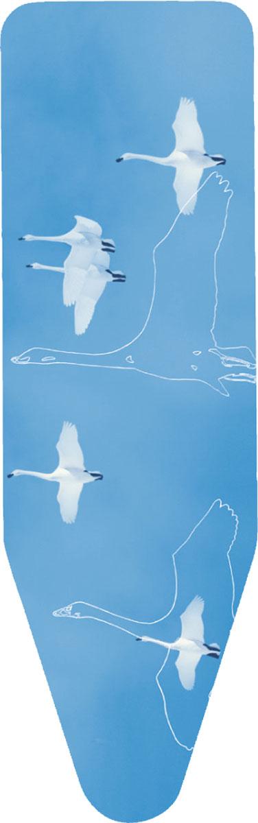 Чехол для гладильной доски Brabantia, с войлоком, цвет: синий, 124 х 45 см264825синийЧехол для гладильной доски Brabantia выполнен из натурального хлопка с подкладкой из поролона (4 мм) и войлока (4 мм). Чехол разработан специально для гладильных досок Brabantia и подходит для большинства утюгов и паровых систем. Благодаря системе фиксации (эластичный шнурок с ключом для натяжения и резинка с крючками по центру) чехол легко крепится к гладильной доске, а поверхность всегда остается гладкой и натянутой. Чехол для гладильной доски Brabantia подарит вашей доске новую жизнь и создаст идеальную поверхность для глажения и отпаривания белья. Размер: 124 см х 45 см. Толщина наполнителя: 8 мм.