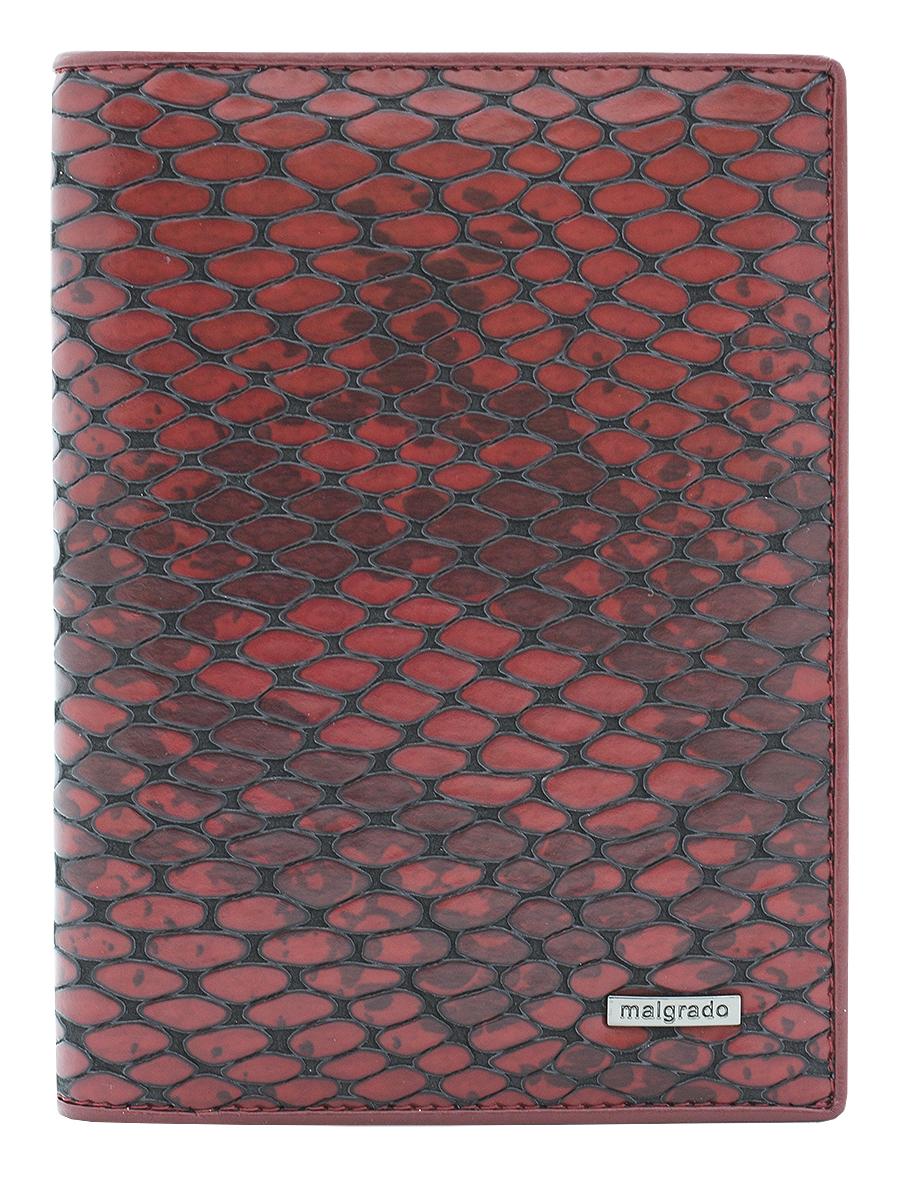 Обложка для документов женская Malgrado, цвет: красный. 54019-5250154019-52501Элегантная обложка для документов Malgrado выполнена из натуральной кожи с декоративным фактурным тиснением под кожу рептилии. Изделие оформлено металлической пластиной с гравировкой в виде символики бренда. Изделие может послужить как для хранения автодокументов, так и паспорта. Внутри содержится съемный блок из шести прозрачных файлов для автодокументов, также имеется пять кармашков для визиток или пластиковых карт. Обложка упакована в подарочную коробку с логотипом фирмы. Обложка поможет сохранить внешний вид ваших документов, защитит их от повреждений, а также станет стильным аксессуаром, который подчеркнет ваш образ.