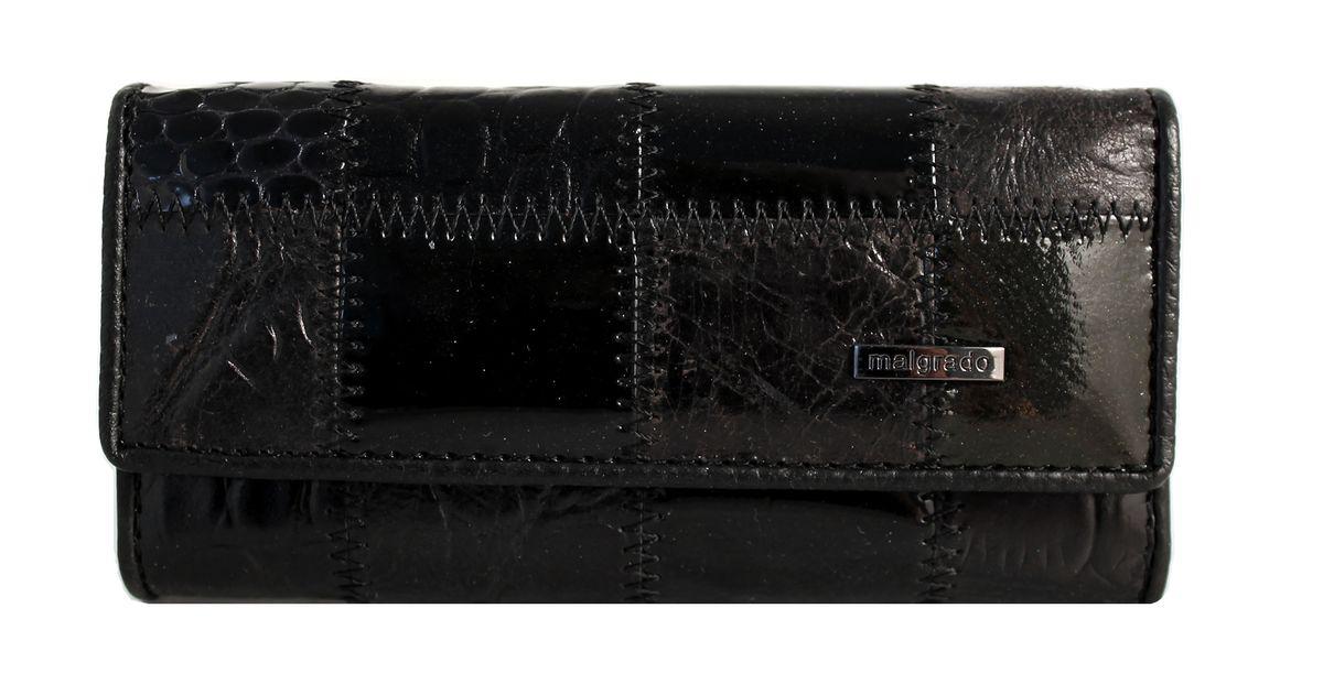 Ключница Malgrado, цвет: черный. 47006A-239A