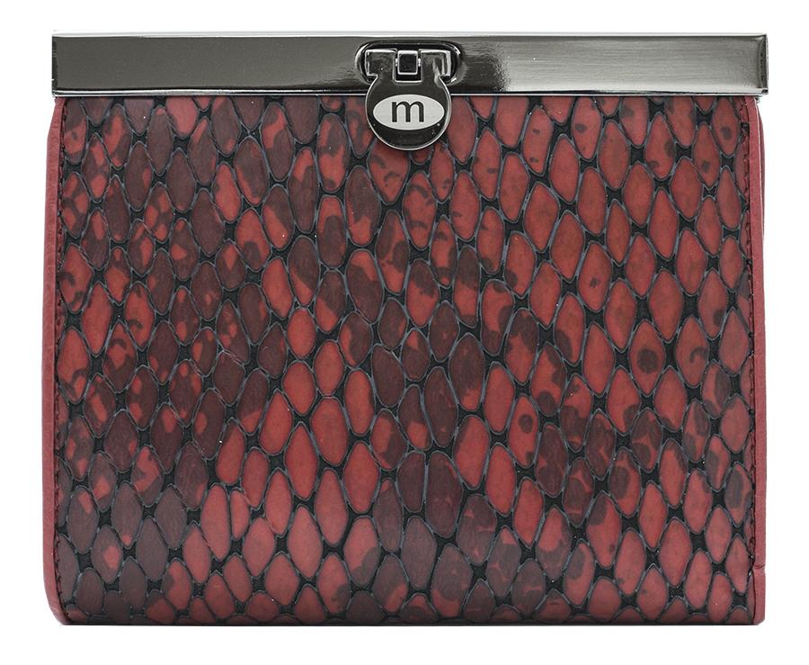 Кошелек женский Malgrado, цвет: красный. 44009-5250144009-52501Элегантный кошелек Malgrado изготовлен из высококачественной натуральной кожи с декоративным фактурным тиснением под кожу рептилии, оформлен металлической фурнитурой с символикой бренда. Изделие содержит одно отделение и закрывается на замок-защелку. Кошелек включает в себя: три отделения для купюр, одно из которых на молнии, потайной карман, два кармана с прозрачными вставками, три кармана для пластиковых карт и карман для монет, закрывающийся клапаном на кнопку. Изделие упаковано в фирменную коробку с логотипом бренда. Стильный кошелек не оставит равнодушной ни одну представительницу прекрасной половины человечества.