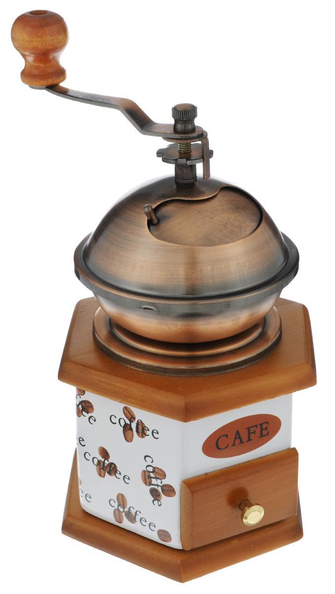 Мельница для кофе Grinberg Stahlwaren, шестигранная. RQ001HRQ001HУдобный и разнообразный дизайн позволяет выбрать тот вариант, который идеально подойдет именно интерьеру вашей кухни. Идеально сбалансированная конструкция и дизайн были соединены в классическом стиле, отлично сочетающимся с оформлением любой кухни. Такая мельница дополнит интерьер Вашей кухни и будет отличным подарком для настоящего ценителя кофе. Уважаемые клиенты! Так как мельница выполнена из дерева, то ящичек для кофе не всегда плотно закрывается вследствие естественных природных деформаций материала. Прилагается инструкция на русском языке по использованию мельницы.