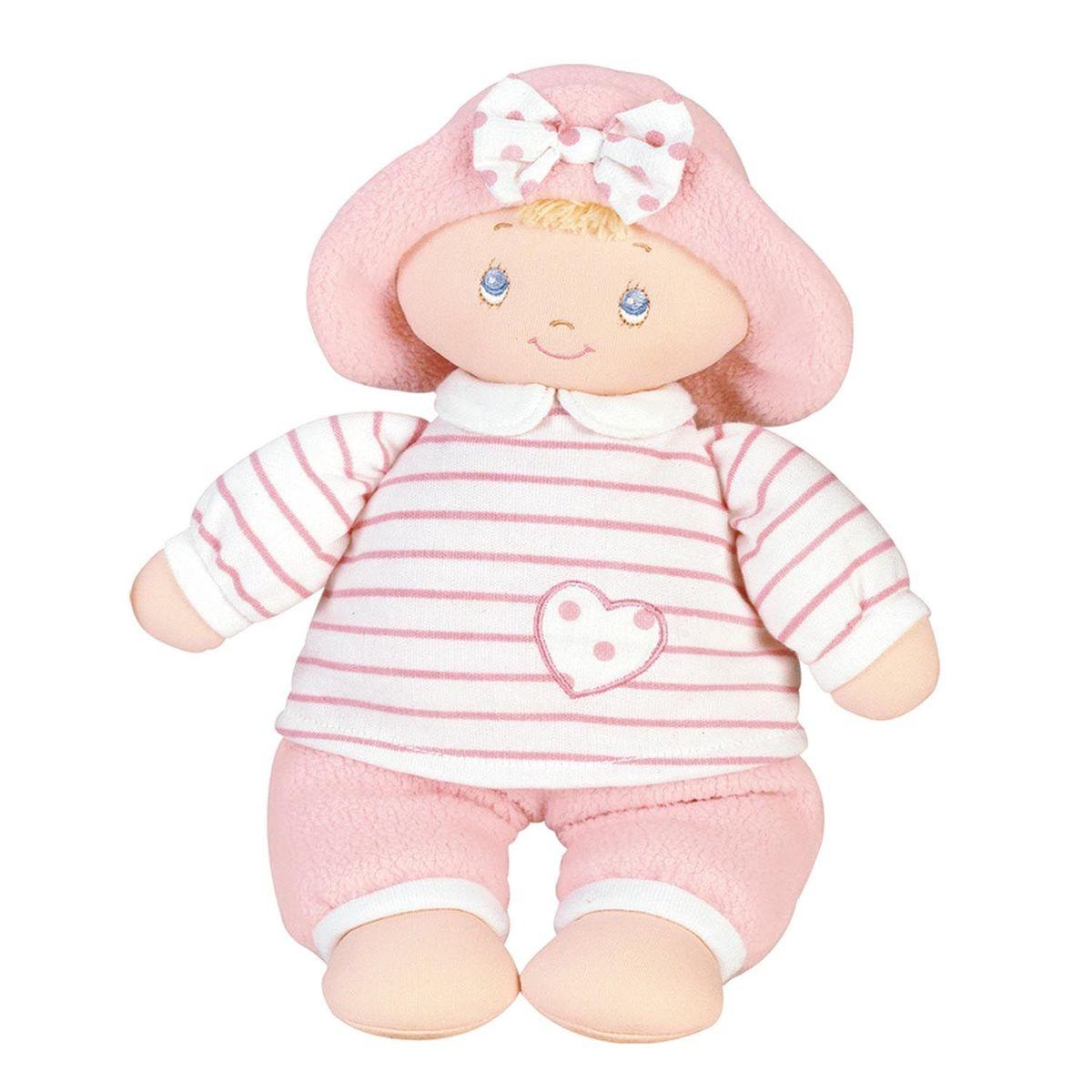 Gund Мягкая кукла Sweet Dolly58069Милые, мягкие и безопасные, игрушки фирмы Gund отличаются реалистичным внешним видом, напоминающим настоящего питомца. Только посмотрите на эту милую мордашку, которая так приветливо смотрит на вас. Разве можно устоять перед её обаянием? Конечно нет, да и не нужно! Такая игрушка вызывает умиление не только у детей , но и у взрослых. Поэтому она станет отличным подарком не только ребёнку, но и друзьям!