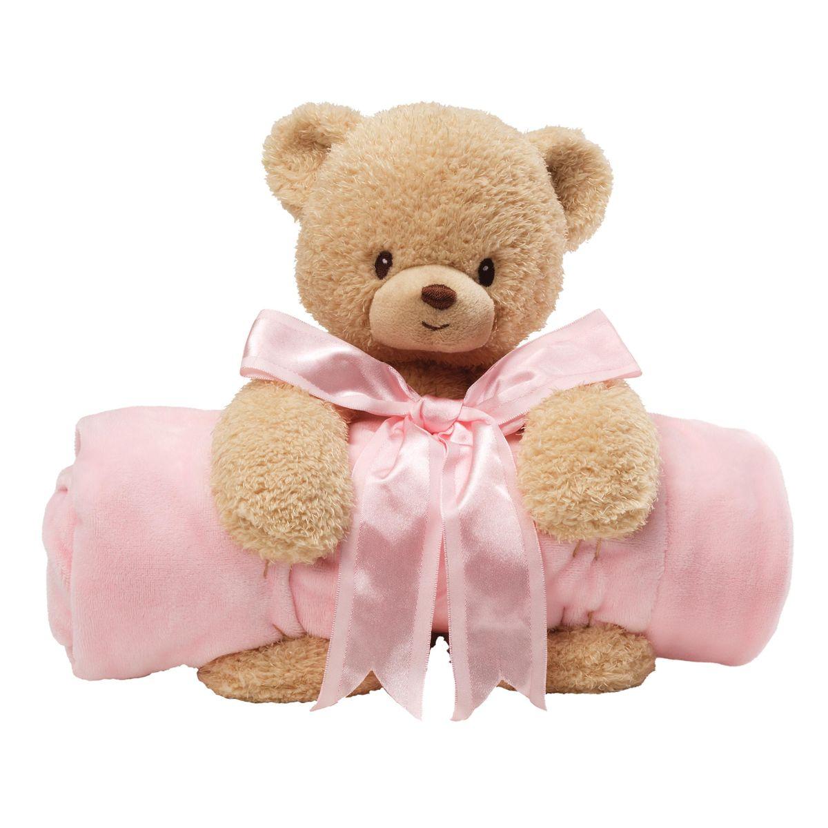 Gund Мягкая игрушка в наборе с полотенцем Мишка цвет розовый4034093Милые, мягкие и безопасные, игрушки фирмы Gund отличаются реалистичным внешним видом, напоминающим настоящего питомца. Только посмотрите на эту милую мордашку, которая так приветливо смотрит на вас. Разве можно устоять перед её обаянием? Конечно нет, да и не нужно! Такая игрушка вызывает умиление не только у детей , но и у взрослых. Поэтому она станет отличным подарком не только ребёнку, но и друзьям!