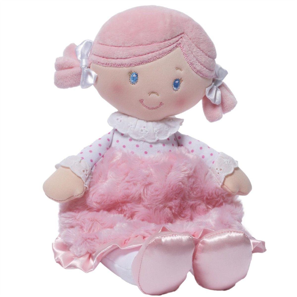Gund Мягкая кукла Celia Doll4048406Милые, мягкие и безопасные, игрушки фирмы Gund отличаются реалистичным внешним видом, напоминающим настоящего питомца. Только посмотрите на эту милую мордашку, которая так приветливо смотрит на вас. Разве можно устоять перед её обаянием? Конечно нет, да и не нужно! Такая игрушка вызывает умиление не только у детей , но и у взрослых. Поэтому она станет отличным подарком не только ребёнку, но и друзьям!
