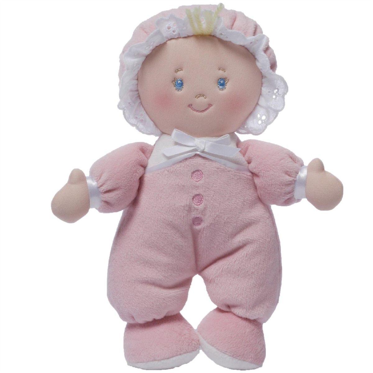 Gund Мягкая кукла Kaylee Doll4048426Милые, мягкие и безопасные, игрушки фирмы Gund отличаются реалистичным внешним видом, напоминающим настоящего питомца. Только посмотрите на эту милую мордашку, которая так приветливо смотрит на вас. Разве можно устоять перед её обаянием? Конечно нет, да и не нужно! Такая игрушка вызывает умиление не только у детей , но и у взрослых. Поэтому она станет отличным подарком не только ребёнку, но и друзьям!