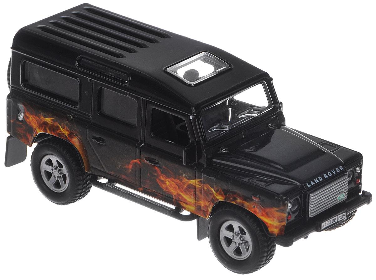 Пламенный мотор Машинка инерционная Land Rover Пламя87509Машинка инерционная Пламенный мотор Land Rover. Пламя выполнена с учетом всех деталей и особенностей оригинала - мощного внедорожника Land Rover. Игрушка с инерционным механизмом: стоит только откатить машинку назад, а затем отпустить - она поедет вперед. У машины открываются передние двери. Если нажать на капот, то послышится звук мотора и музыка, засветятся фары. Выполнена из качественных материалов, которые не вредят здоровью ребенка. Масштаб 1:32. Рекомендуется докупить 3 батарейки типа LR41 (товар комплектуется демонстрационными).