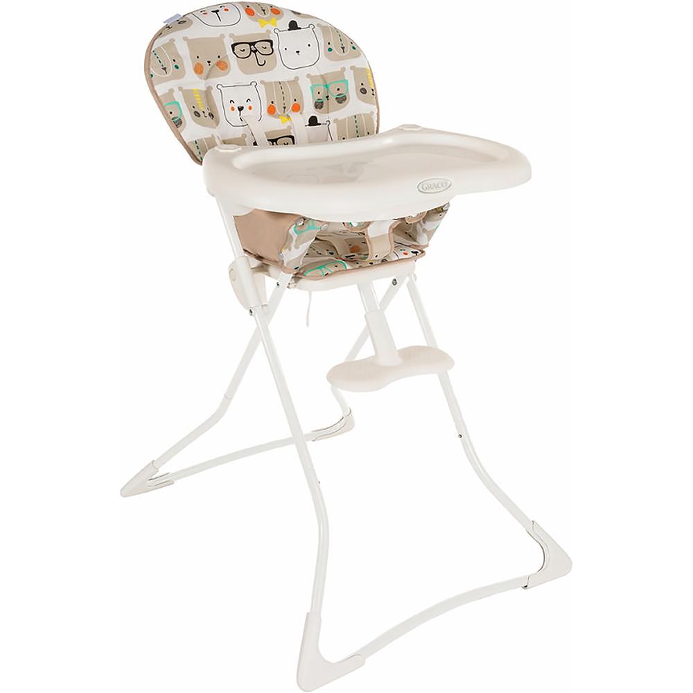 Graco Стульчик для кормления Tea Timе1953185Самый простой и компактный складной стульчик для кормления с ярким дизайном. Большой столик обеспечивает дополнительную практичность, а подставка для ног гарантирует комфорт. Сиденье очищается протиранием. Для детей от 6 месяцев и до 3 лет. Размер в разложенном состоянии 73х71х100 см, в сложенном - 15х61х122 см, вес 5,5 кг. Столик устанавливается в 3 положения. Компактный размер в сложенном состоянии.