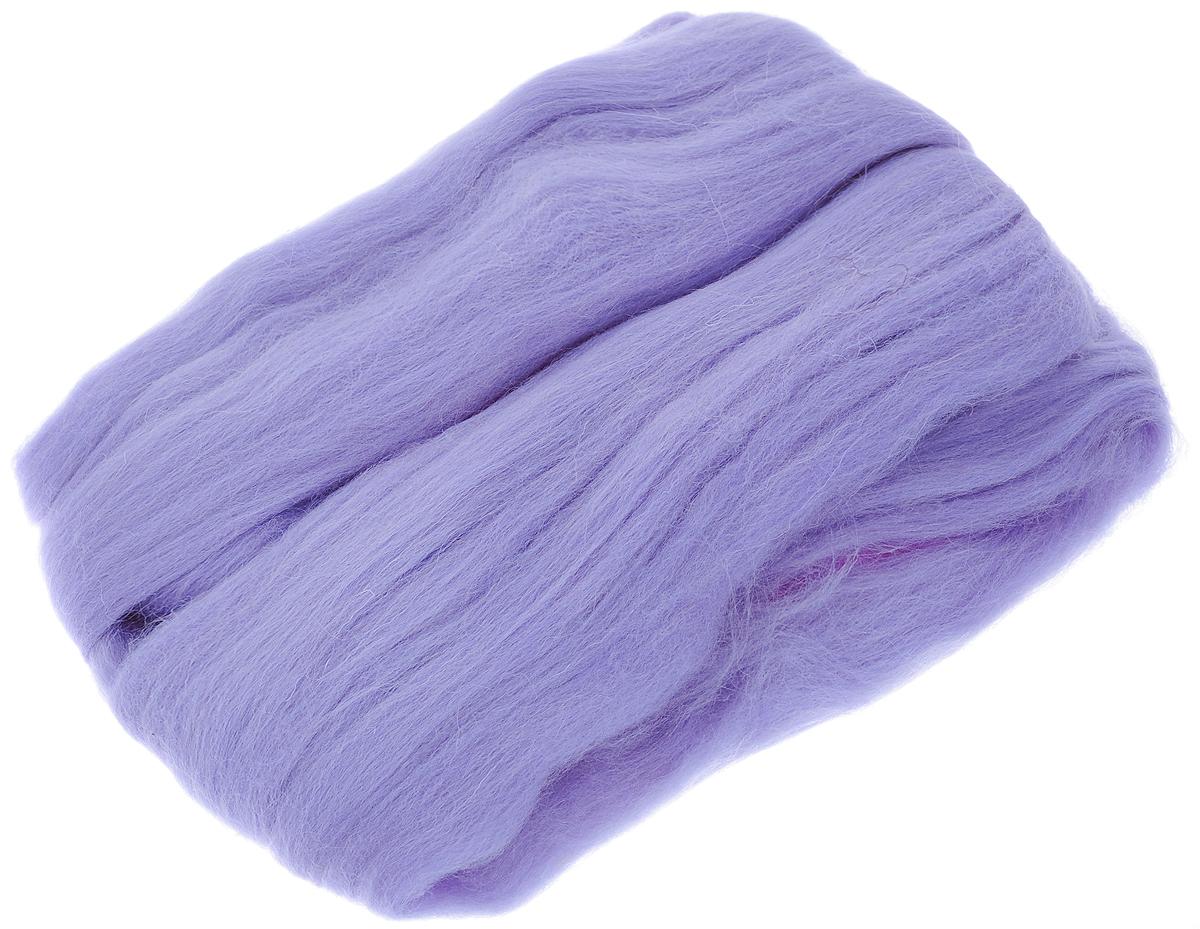 Шерсть для валяния RTO, цвет: сиреневый (18), 50 гWF50/18Шерсть для валяния RTO идеально подходит для сухого и мокрого валяния. Шерсть RTO не линяет при валянии и последующей стирке, легко расчесывается и разделяется на пряди. Готовые изделия из натуральной шерсти RTO хорошо поддаются покраске и тонированию. Валяние шерсти - это особая техника рукоделия, в процессе которой из шерсти для валяния создается рисунок на ткани или войлоке, объемные игрушки, панно, декоративные элементы, предметы одежды или аксессуары. Только натуральная шерсть обладает способностью сваливаться или свойлачиваться.