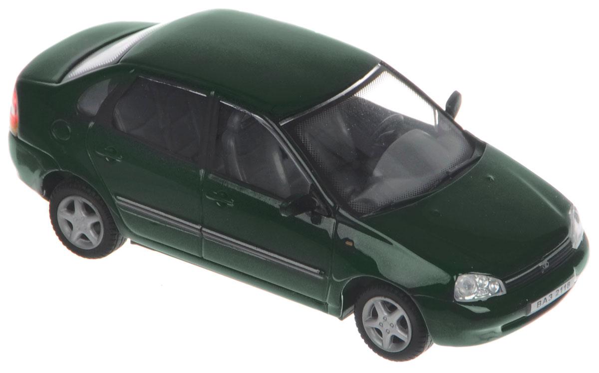 Cararama Модель автомобиля ВАЗ 2118 Lada Kalina цвет темно-зеленыйLC230ND КалинаМодель автомобиля Cararama ВАЗ 2118 Lada Kalina порадует и ребенка, и взрослого коллекционера. Модель выполнена из пластика и металла, ее внешний вид максимально приближен к реальному автомобилю. Салон модели проработан и высоко детализирован. Прорезиненные машинки оснащены свободным ходом. Модель помещена на пластиковую подставку с надписью, содержащей название автомобиля. Модель автомобиля Cararama ВАЗ 2118 Lada Kalina обязательно понравится вашему ребенку и станет отличным дополнением любой коллекции.