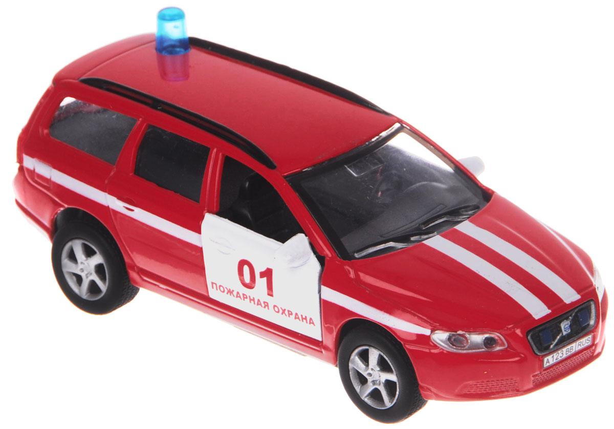 Пламенный мотор Машинка инерционная Volvo Пожарная охрана87498Машинка инерционная Пламенный мотор Volvo. Пожарная охрана привлечет к себе внимание не только детей, но и взрослых. Машина представляет собой автомобиль пожарной охраны марки Volvo с открывающимися дверьми. Авто оснащено световыми и звуковыми эффектами, а также имеет инерционный ход. Машинку необходимо отвести назад, затем отпустить - и она быстро поедет вперед. Прорезиненные колеса обеспечивают надежное сцепление с любой поверхностью пола. Ваш ребенок будет часами играть с этой машинкой, придумывая различные истории. Порадуйте его таким замечательным подарком! Рекомендуется докупить 3 батарейки типа LR41 (товар комплектуется демонстрационными).