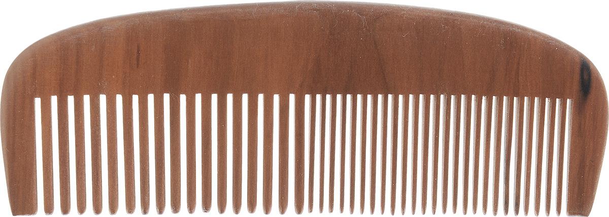 Расческа-гребеньVortex, цвет: коричневый, длина 15 см51020_ коричневыйДеревянная расческа-гребеньVortex незаменима в повседневном уходе за волосами. Сторона с редкими зубцами легко распутает ваши волосы, а, расчесывая волосы стороной с частыми зубцами, вы придадите им блеск и ухоженный вид. Помогает справиться даже с сухими и непослушными волосами. Идеальна для укладки. Расческа легко моется и быстро сохнет. Размер расчески: 15 см х 5 см х 0,8 см.
