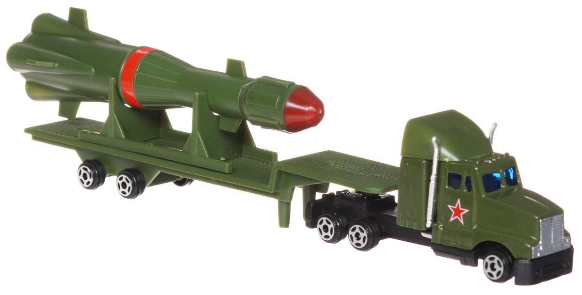 ТехноПарк Ракетный тягач20126-RТехноПарк Ракетный тягач непременно станет любимой игрушкой вашего малыша. Игрушка состоит из тягача, прицепа и большой ракеты. Прицеп может с легкостью отсоединяться от тягача, ракета снимается со своей подставки. Колеса машины крутятся. Все предметы изготовлены из безопасного пластика с элементами из металла. Ваш ребенок будет часами играть с Ракетным тягачом, придумывая различные истории. Порадуйте его таким замечательным подарком!
