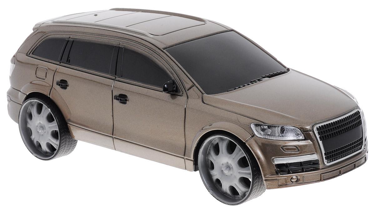 Пламенный мотор Модель автомобиля Audi87426Модель автомобиля Пламенный мотор Audi обязательно понравится вашему малышу. Она привлечет внимание вашего ребенка и надолго останется его любимой игрушкой. Машинка выполнена из пластмассы с элементами металла. Благодаря инерционному механизму игрушка может двигаться самостоятельно, стоит только немного подтолкнуть машинку вперед или назад, а затем отпустить, и она поедет сама. Игрушка развивает концентрацию внимания, координацию движений, мелкую моторику рук, цветовое восприятие и воображение. Малыш будет в восторге от такого подарка!