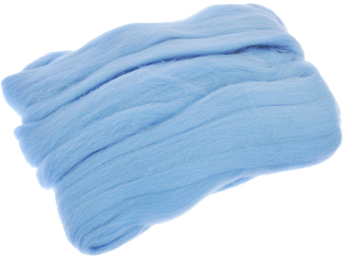 Шерсть для валяния RTO, цвет: светло-голубой (24), 50 гWF50/24Шерсть для валяния RTO идеально подходит для сухого и мокрого валяния. Шерсть RTO не линяет при валянии и последующей стирке, легко расчесывается и разделяется на пряди. Готовые изделия из натуральной шерсти RTO хорошо поддаются покраске и тонированию. Валяние шерсти - это особая техника рукоделия, в процессе которой из шерсти для валяния создается рисунок на ткани или войлоке, объемные игрушки, панно, декоративные элементы, предметы одежды или аксессуары. Только натуральная шерсть обладает способностью сваливаться или свойлачиваться.