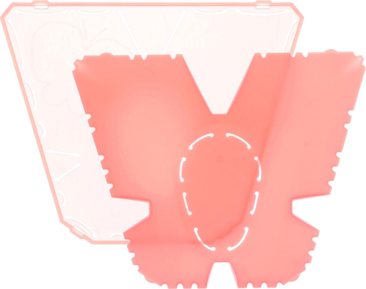 Трафарет для изготовления украшений Clover Йо-йо, 16 х 13 см8711Трафарет для изготовления украшений Clover Йо-йо выполнен из высококачественного полипропилена. Такое изделие позволит быстро и легко изготовить украшение Йо-йо. Йо-йо - это определенным образом задрапированные круги из ткани, традиционно используемые в квилтинге, аппликации и пэчворке. Эти круги могут быть любого диаметра и фактуры, плоские или объемные, с декором и без него. Внутри упаковки есть детальная инструкция по изготовлению данного украшения. Размер шаблона: 16 х 13 см. Размер готового изделия: 45 х 55 мм.