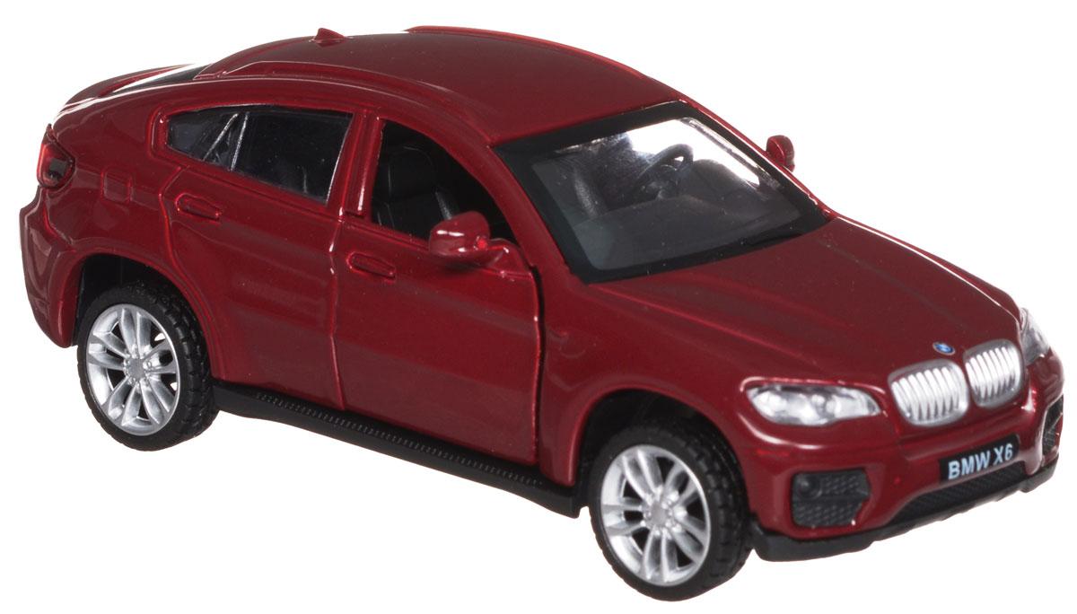 ТехноПарк Модель автомобиля BMW X6 цвет бордовый67313_бордовыйМодель автомобиля ТехноПарк BMW X6, выполненная из металла, пластика и резины, станет любимой игрушкой вашего малыша. Игрушка представляет собой модель автомобиля BMW X6 в масштабе 1:43. Передние дверцы модели открываются, а прорезиненные колеса обеспечивают надежное сцепление с любой поверхностью пола. Модель оснащена инерционным ходом: достаточно немного отвести ее назад, а затем отпустить - машинка быстро поедет вперед. Ваш ребенок будет часами играть с этой машинкой, придумывая различные истории. Порадуйте его таким замечательным подарком!