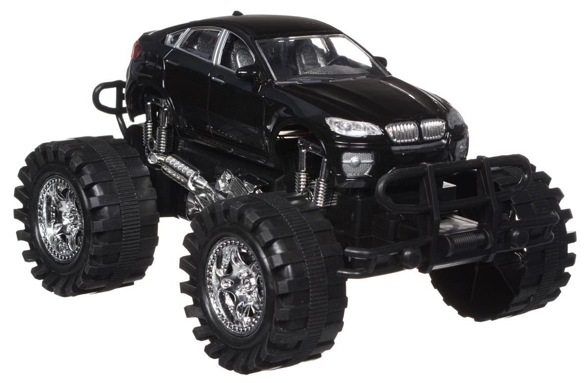 Пламенный мотор Машинка инерционная цвет черный87474Игрушечный автомобиль Пламенный мотор Автопарк с инерционным механизмом обязательно понравится вашему малышу. Он привлечет внимание вашего ребенка и надолго останется его любимой игрушкой. Машинка выполнена из пластмассы с элементами металла. Благодаря инерционному механизму, игрушка может двигаться самостоятельно, стоит только немного подтолкнуть машинку вперед или назад, а затем отпустить, и она поедет сама. При включении игрушки начнет звучать шум мотора, клаксон и музыка. Игрушка развивает концентрацию внимания, координацию движений, мелкую моторику рук и воображение. Малыш будет в восторге от такого подарка! Для работы игрушки необходимы 3 батарейки типа LR44 (товар комплектуется демонстрационными).