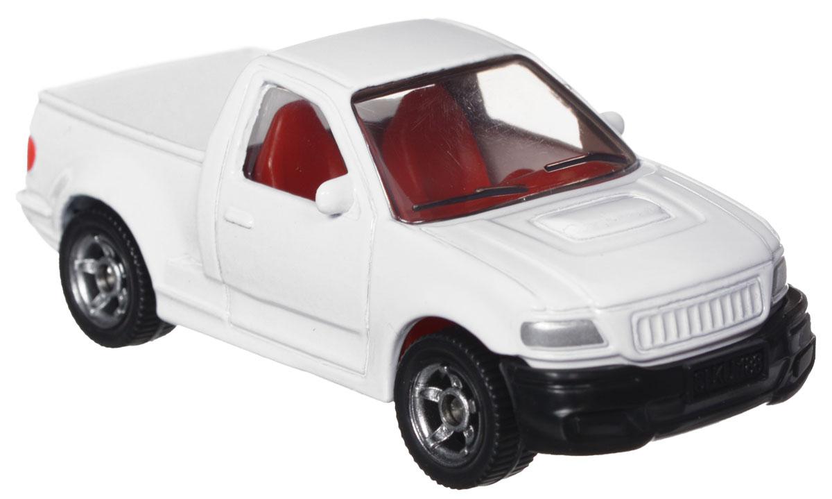 Siku Модель автомобиля Ranger0867Модель Siku Ranger выполнена в виде копии одноименного автомобиля фирмы Ford. Такая модель понравится не только ребенку, но и взрослому коллекционеру, и приятно удивит вас высочайшим качеством исполнения. Модель выполнена из металла с элементами из пластика, колеса крутятся. Отличный подарок для любителей автомобилей!