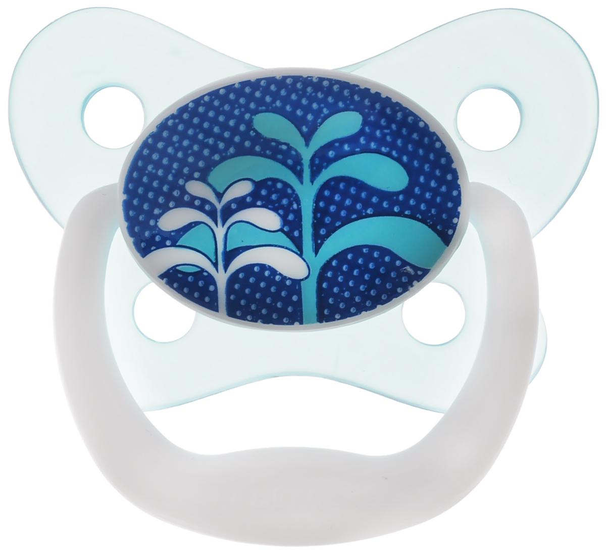 Dr.Browns Пустышка PreVent Бабочка Трава от 0 до 6 месяцевPV11404_бирюзовый/траваПустышка Dr.Browns PreVent Бабочка. Трава предназначена для новорожденных малышей от 0 до 6 месяцев. Пустышка удовлетворяет естественный сосательный рефлекс и тренирует мышцы губ, языка и челюсти, что играет важную роль в развитии речевых навыков и навыков приема пищи. Мягкая пустышка выполнена из прозрачного гигиеничного силикона, не имеющего вкуса и запаха. Имеет воздушный канал, который впускает воздух, благодаря чему пустышка остается мягкой и гибкой, что минимизирует риск неправильного расположения зубов. Снабжена вентиляционной системой. Пустышка с защелкивающимся колпачком. Не содержит Бисфенол-А.