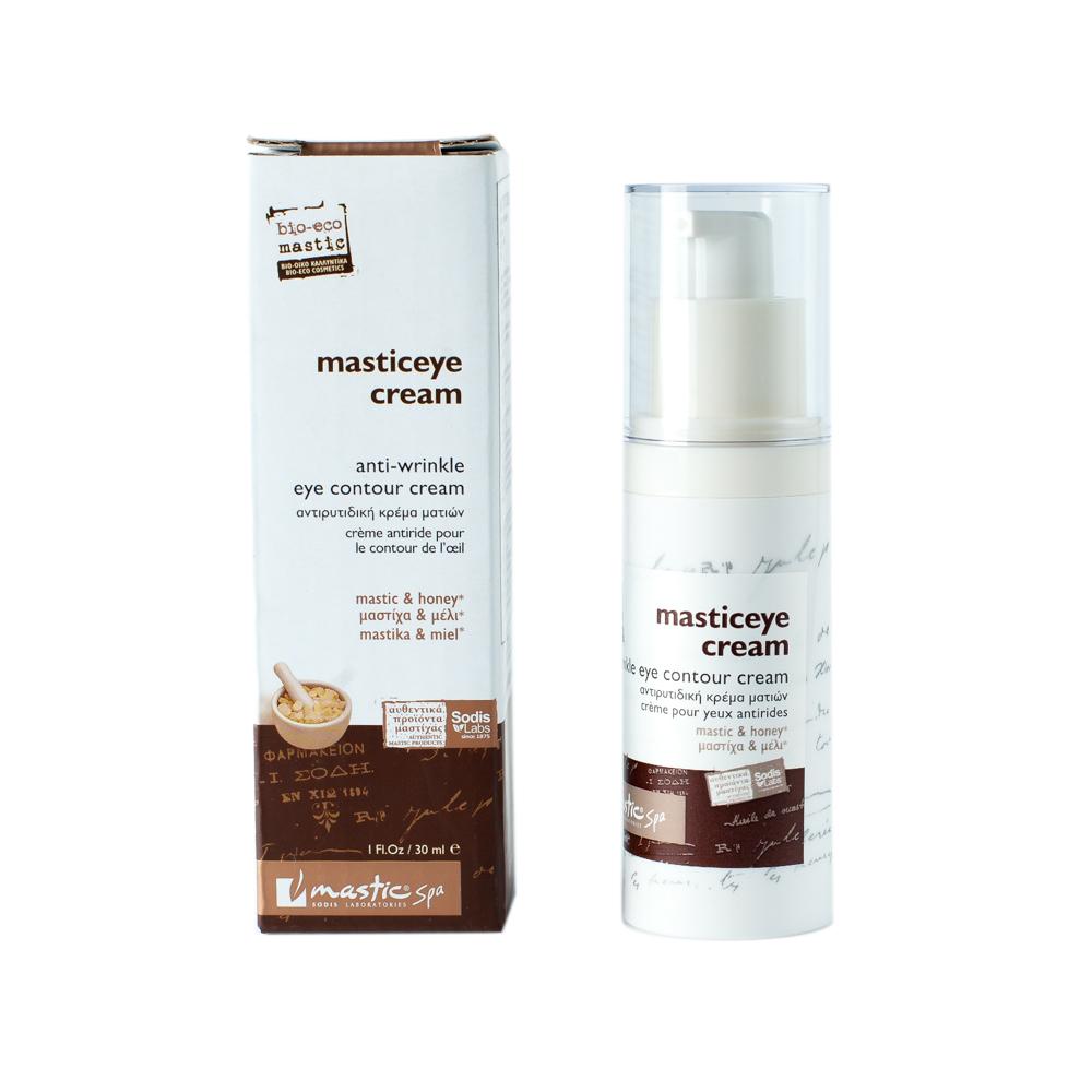 Mastic Spa Крем для век Masticeye cream; 30 млMS-1-02-11Возраст 37+ Легкий и нежный крем с натуральными эфирными маслами и приятным тонким запахом. Витамин С усиливает синтез коллагена, способствуя уменьшению мелких мимических морщинок. Мастичное и оливковое масла глубоко увлажняет кожу. Сочетание витаминов А, Е и С помогает уменьшению темных кругов под глазами. Мед, цветочная пыльца, масло ореха макадамия и эфирное масло абрикоса успокаивают и снимают раздражение, возвращая лицу здоровый вид и молодость, Кожа моментально становится нежной, гладкой, глубоко увлажняется.
