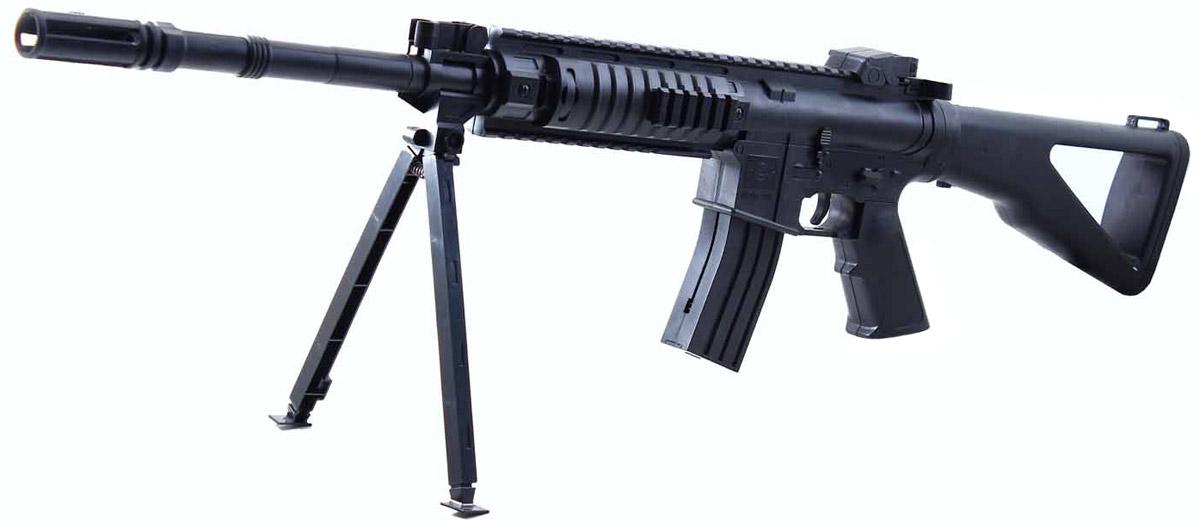 Shantou Gepai Винтовка механическая с сошкамиES2093-M739В наборе с винтовкой - сошки, специальные подставки для стрельбы с упора.