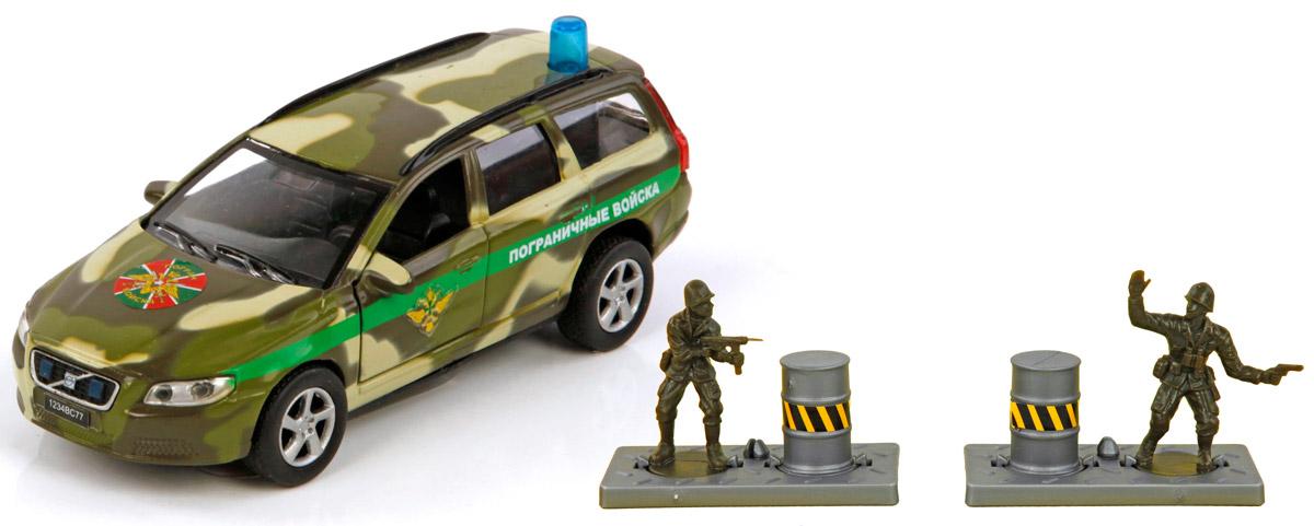 Пламенный мотор Машинка Volvo Пограничные войска870079Машинка инерционная Пламенный мотор Volvo Пограничные войска- реалистично смоделированная игрушка для маленьких автолюбителей. Отличается хорошей детализацией и качественным видом. В машинку встроен инерционный механизм, который может привезти игрушку в движение, стоит только откатить машинку назад, а затем отпустить. Открываются передние двери. Машинка подойдет для игры как дома, так и на улице. Выполнена из качественных материалов, которые не вредят здоровью ребенка. Масштаб: 1:32. Машинка дополнена световыми и звуковыми эффектами. Порадуйте своего ребенка таким замечательным подарком!