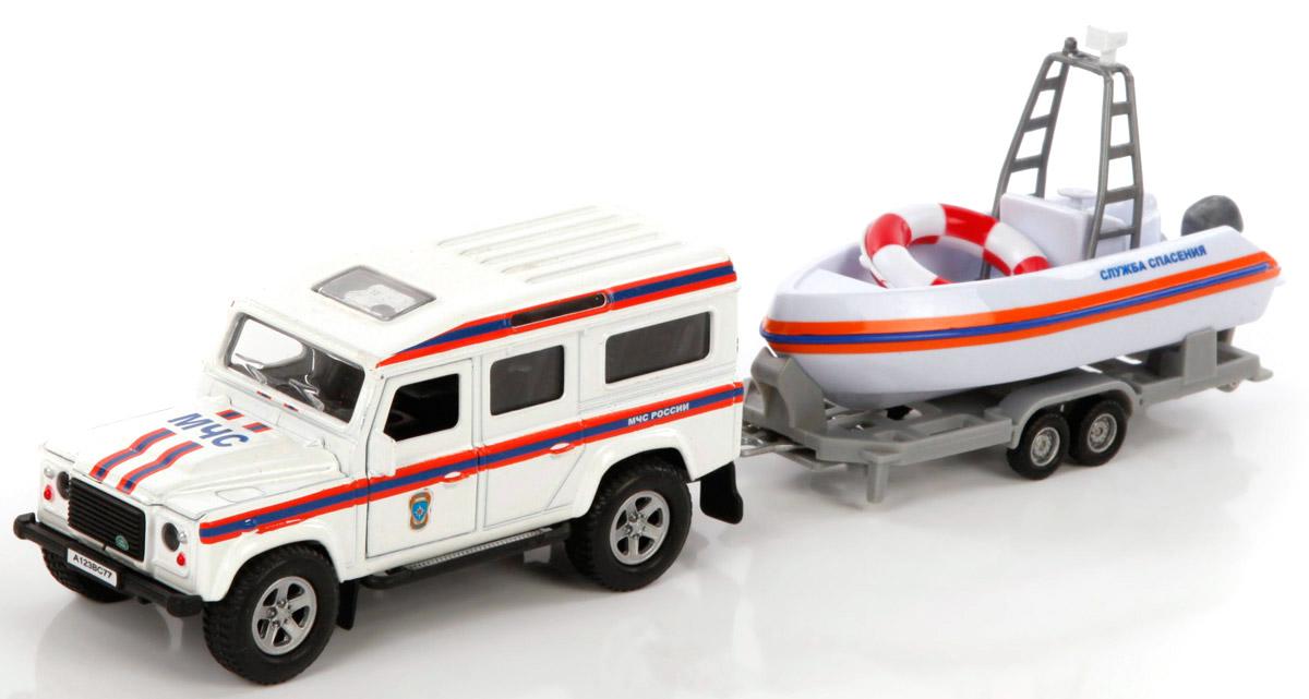 Пламенный мотор Машина Land Rover МЧС Служба спасения870104