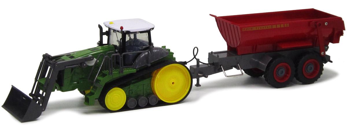 Пламенный мотор Трактор гусеничный на радиоуправлении с полуприцепом 8 каналов87575Специальная серия спецтехники ТМ Пламенный мотор! Такая машинка станет отличным подарком для любого мальчишки. Ведь играть не только интересно, но и познавательно! Масштаб 1:28. Движение машины: вперед, назад, повороты направо и налево. Управление ковшом с помощью пульта. Управление кузовом с помощью пульта. Технические характеристики: Радиус действия пульта - 12 м. Элементы питания для машины - ААА 1,5 Vх3. Элементы питания для пульта - 6LR61 9 V х1.