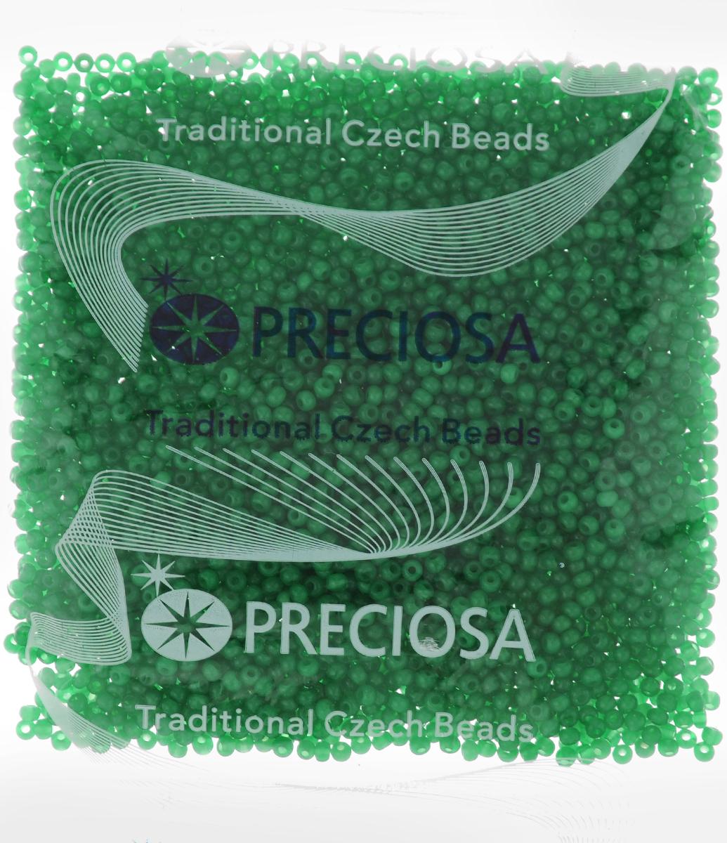 Бисер Preciosa Ассорти, матовый, цвет: шемрок (46), 10/0, 50 г. 163142163142_46_зеленыйБисер Preciosa Ассорти, изготовленный из стекла круглой формы, позволит вам своими руками создать оригинальные ожерелья, бусы или браслеты, а также заняться вышиванием. В бисероплетении часто используют бисер разных размеров и цветов. Он идеально подойдет для вышивания на предметах быта и женской одежде. Изготовление украшений - занимательное хобби и реализация творческих способностей рукодельницы, это возможность создания неповторимого индивидуального подарка.