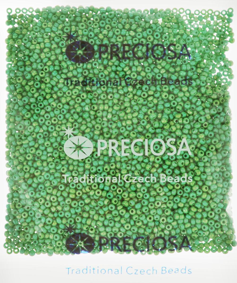 Бисер Preciosa Ассорти, непрозрачный, с радужным покрытием, цвет: мятный (07), 10/0, 50 г163142_07_зеленыйБисер Preciosa Ассорти, изготовленный из стекла круглой формы, позволит вам своими руками создать оригинальные ожерелья, бусы или браслеты, а также заняться вышиванием. В бисероплетении часто используют бисер разных размеров и цветов. Он идеально подойдет для вышивания на предметах быта и женской одежде. Изготовление украшений - занимательное хобби и реализация творческих способностей рукодельницы, это возможность создания неповторимого индивидуального подарка.