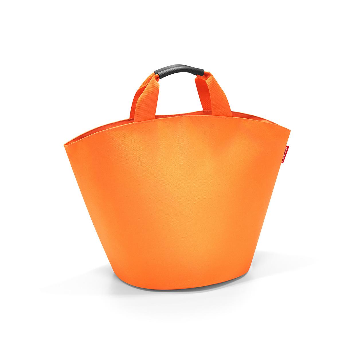 Сумка женская Reisenthel Ibizashopper, цвет: оранжевый. BM2004BM2004Универсальная женская сумка Reisenthel Ibizashopper изготовлена из плотного полиэстера. Сумка содержит одно вместительное отделение, закрывающееся хлястиком на кнопки. Внутри расположен врезной карман на застежке-молнии. Ручки дополнены специальным покрытием, которое обеспечит максимальный комфорт при эксплуатации изделия. Практичная сумка станет незаменимым аксессуаром для повседневного использования.