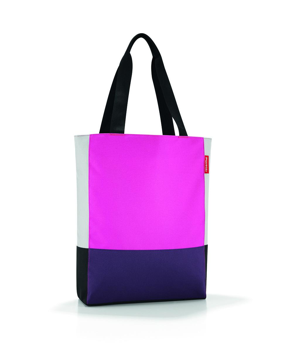 Сумка женская Reisenthel Patchworkbag, цвет: розовый. HW3042HW3042Универсальная женская сумка Reisenthel Patchworkbag изготовлена из плотного полиэстера ярких оттенков. Сумка содержит одно вместительное отделение, закрывающееся на застежку-молнию. Внутри расположен врезной карман на молнии. Изделие дополнено двумя практичными широкими ручками, которые позволят носить сумку, как в руках, так и на плече. Практичная сумка станет незаменимым аксессуаром для повседневного использования.