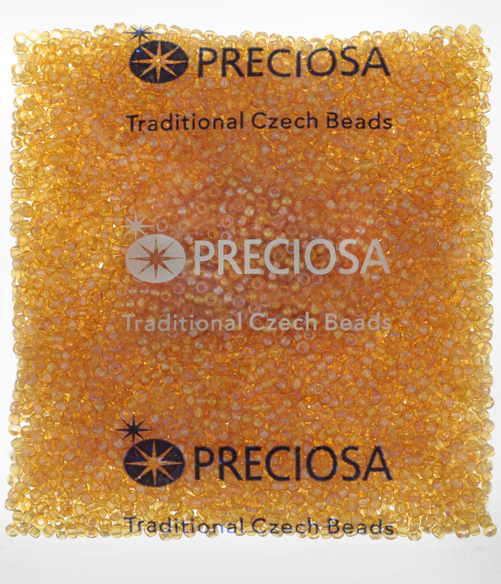 Бисер Preciosa Ассорти, прозрачный, с радужным покрытием, цвет: бронзовый (07), 10/0, 50 г163142_07_оранжевыйБисер Preciosa Ассорти, изготовленный из стекла круглой формы, позволит вам своими руками создать оригинальные ожерелья, бусы или браслеты, а также заняться вышиванием. В бисероплетении часто используют бисер разных размеров и цветов. Он идеально подойдет для вышивания на предметах быта и женской одежде. Изготовление украшений - занимательное хобби и реализация творческих способностей рукодельницы, это возможность создания неповторимого индивидуального подарка.