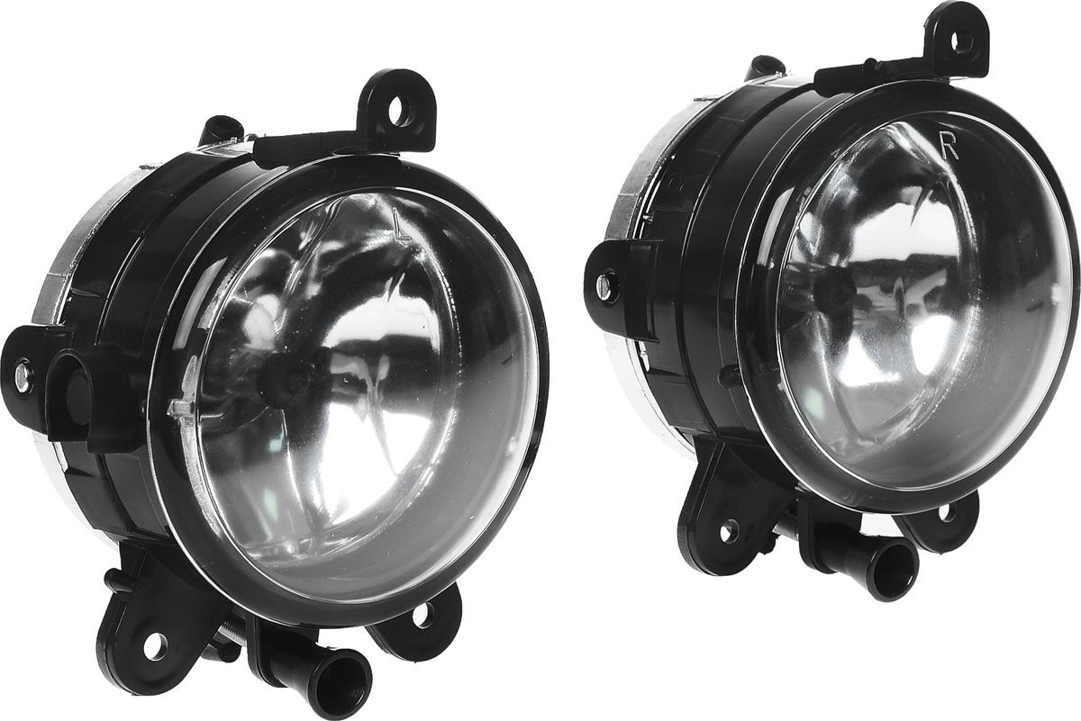 Противотуманные галогенные фары AVS PF-315H, для Lada Priora, 2 шт43900В тяжелых метеоусловиях, таких как туман, дождь или снегопад, свет от обычных фар автомобиля, а точнее лучи ближнего и особенно дальнего света, отражаясь и рассеиваясь от мельчайших капель воды и снежинок, создают полупрозрачную пленку, которая уменьшает видимость. Противотуманные фары AVS PF-316H со стеклами белого цвета дают плоский и широкий горизонтальный луч, который стелется непосредственно над дорогой, чтобы не освещать толщу тумана по высоте. Напряжение: 12 В. Диапазон рабочей температуры: от -40°С до +85°С. Температура свечения/цвет: 3100 К/желтый. Световой поток: 1500 Лм. Защита от пыли и воды: IP54. Диаметр фар: 90 мм.