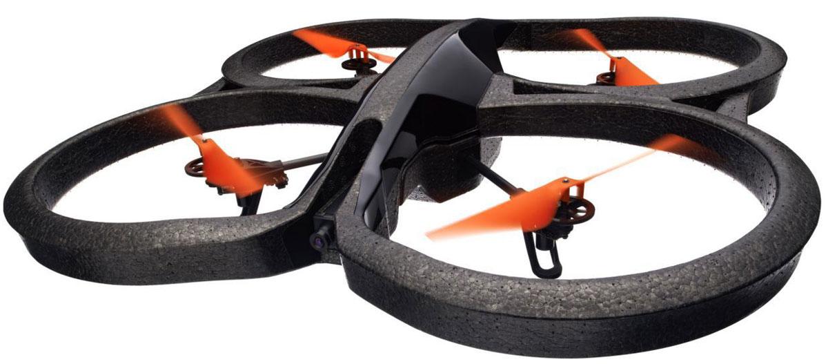 Parrot Квадрокоптер на радиоуправлении AR.Drone 2.0 Power Edition Area 2PF721008Parrot AR.Drone 2.0 Power Edition Area 2 - это квадрокоптер с интуитивно понятным управлением, которое осуществляется с помощью устройств на iOS и Android. AR.Drone позволяет любителям фотографии просматривать виды земли с высоты в высоком разрешении благодаря HD-камере, которая записывает полет и отправляет изображения непосредственно на устройство. AR.FreeFlight: AR.FreeFlight - это основное приложение для пилотирования AR.Drone. Вы можете пилотировать с включенным или выключенным акселерометром и переключаться между фронтальной и вертикальной камерами. Режим режиссера: Режим режиссера позволяет запрограммировать автоматические маневры квадролета, чтобы снять на видео великолепные кадры в движении, как это делают настоящие режиссеры. Запись HD видео: В процессе пилотирования вы можете в реальном времени передавать на свой смартфон или планшет потоковое видео высокого разрешения. Изображение такое четкое и резкое, как будто вы...
