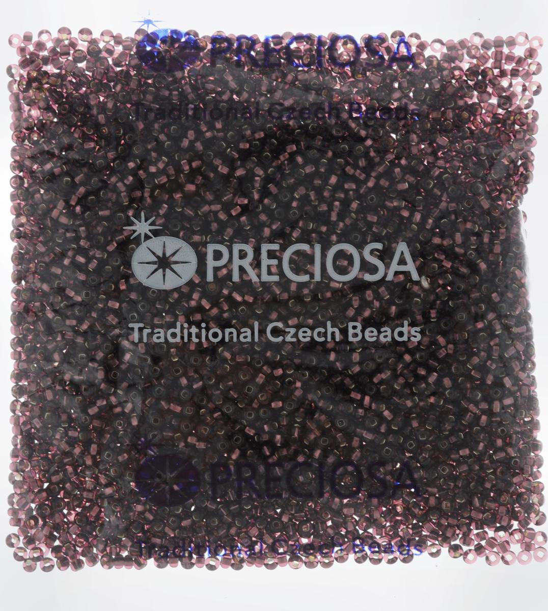 Бисер Preciosa Ассорти, с серебристой серединой, цвет: темно-фиолетовый (08), 10/0, 50 г. 163142163142_08_темно-фиолетовыйБисер Preciosa Ассорти, изготовленный из стекла круглой формы с серебристой серединой, позволит вам своими руками создать оригинальные ожерелья, бусы или браслеты, а также заняться вышиванием. В бисероплетении часто используют бисер разных размеров и цветов. Он идеально подойдет для вышивания на предметах быта и женской одежде. Изготовление украшений - занимательное хобби и реализация творческих способностей рукодельницы, это возможность создания неповторимого индивидуального подарка.