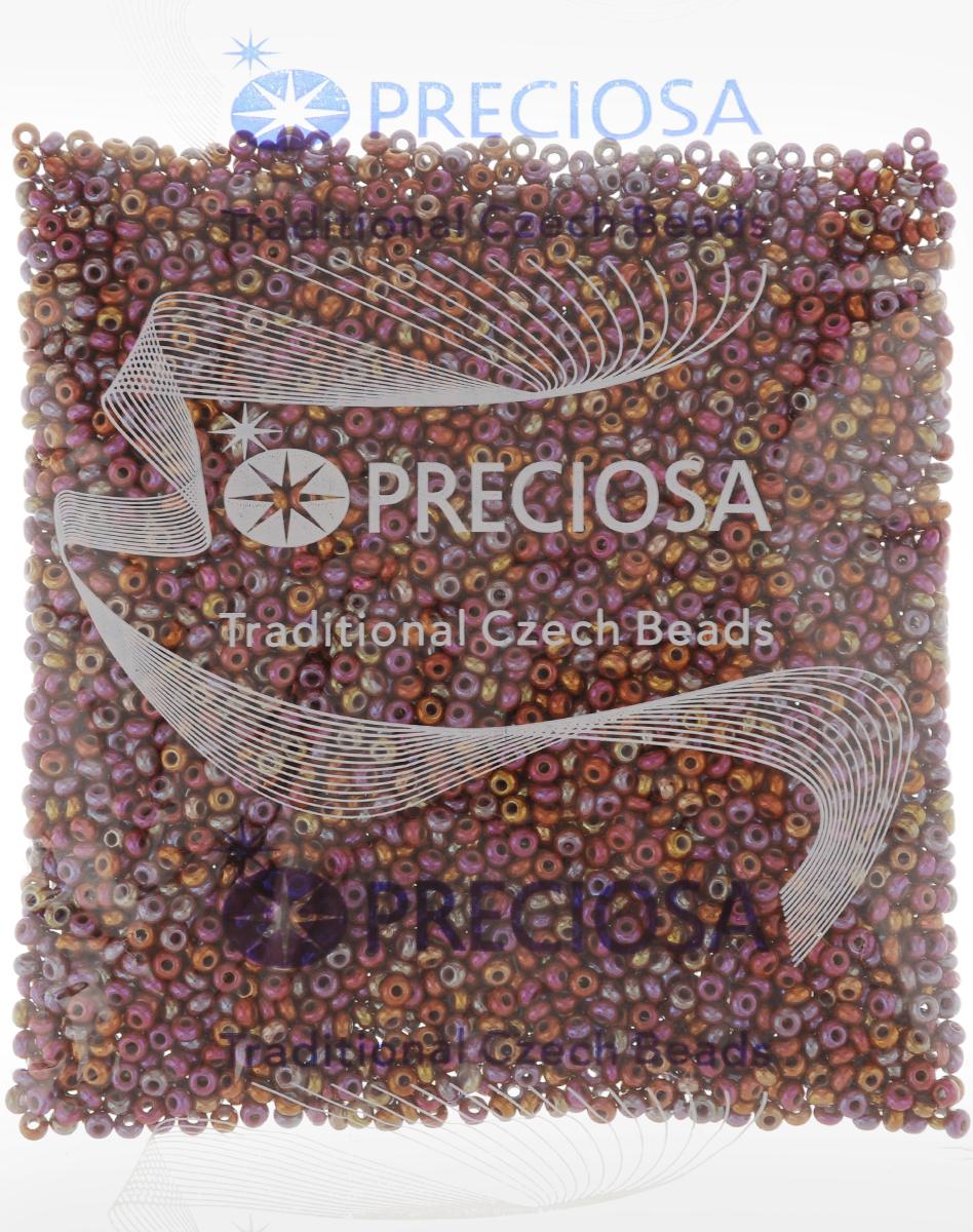 Бисер Preciosa Ассорти, непрозрачный, с радужным покрытием, цвет: фуксия, бежевый (24), 10/0, 50 г163142_24_красныйБисер Preciosa Ассорти, изготовленный из стекла круглой формы, позволит вам своими руками создать оригинальные ожерелья, бусы или браслеты, а также заняться вышиванием. В бисероплетении часто используют бисер разных размеров и цветов. Он идеально подойдет для вышивания на предметах быта и женской одежде. Изготовление украшений - занимательное хобби и реализация творческих способностей рукодельницы, это возможность создания неповторимого индивидуального подарка.