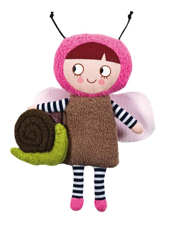 Trousselier Кукла Нинон в костюме бабочки с улиткой 20 смV2006 02
