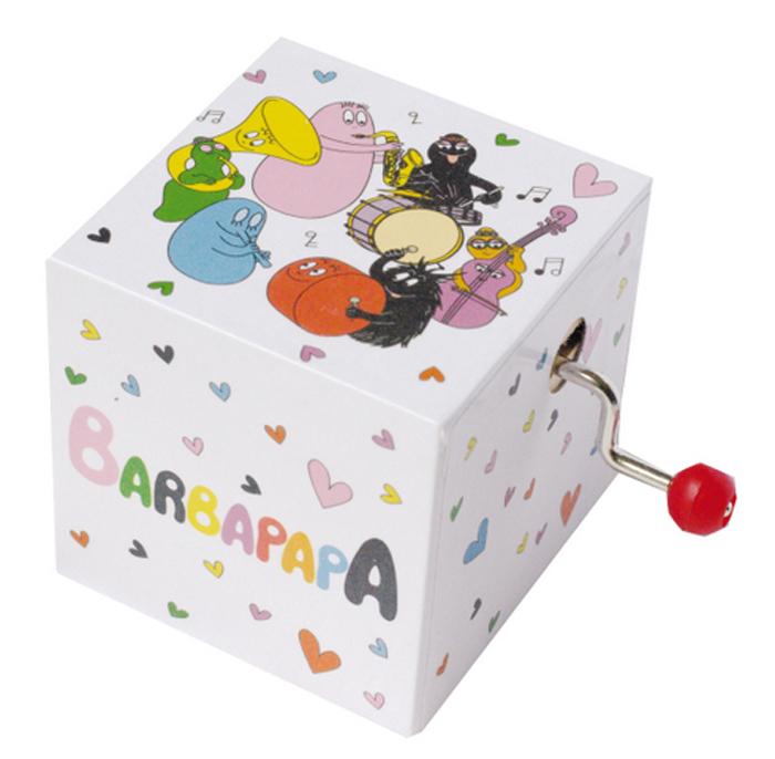 Trousselier Музыкальная мини-шарманка BarbapapaS70613