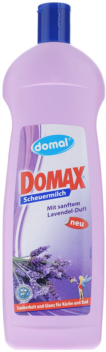 Чистящее средство для ванны и кухни Domax Лаванда, 750 мл159311Эффективное, сильнодействующее средство Domax Лаванда предназначено для основательного, но в то же время бережного удалению любых, даже стойких загрязнений с твердых поверхностей на кухне, в ванной и во всем доме. Благодаря своей специальной формуле прекрасно смывается с поверхностей. Крем-молочко без особых усилий, тщательно и бережно очищает даже застарелые грязь, известковые отложения и жир. Не оставляет царапин и разводов на очищаемых поверхностях. Бережно относится к коже рук, не раздражает ее. Состав: менее 5% неионных ПАВ, анионные ПАВ, консерванты, натуральные чистящие вещества, душистые вещества. Товар сертифицирован.
