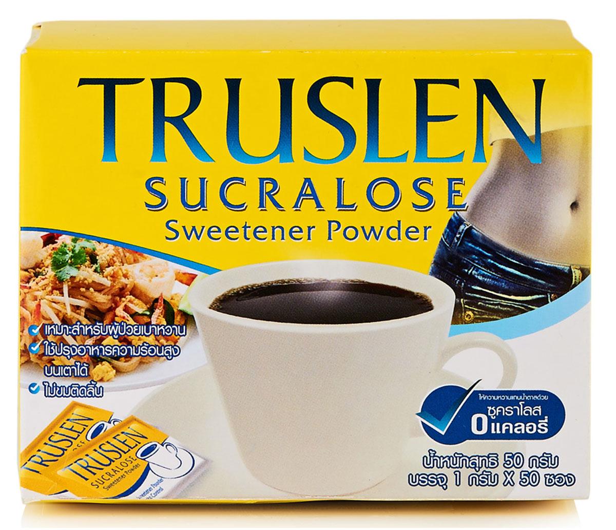 Truslen Sucralose подсластитель, 50 г