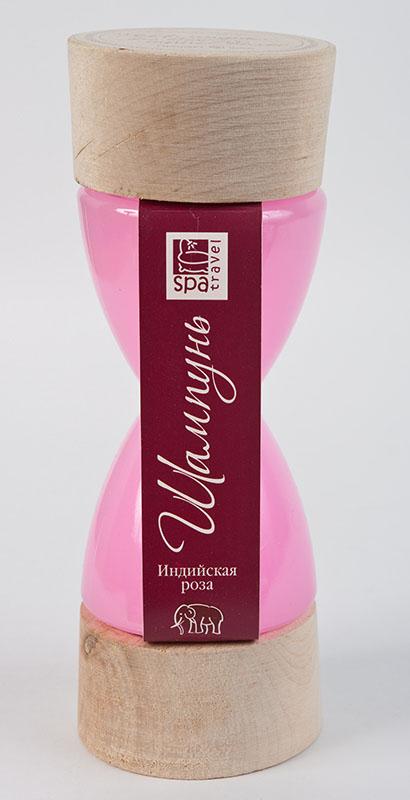 Spa Travel Шампунь Индийская роза, 250 мл370Успокаивающий шампунь для всех типов волос с экстрактами мускатного ореха и шиповника. Деликатно очищает чувствительную кожу головы, придает волосам блеск и объем.