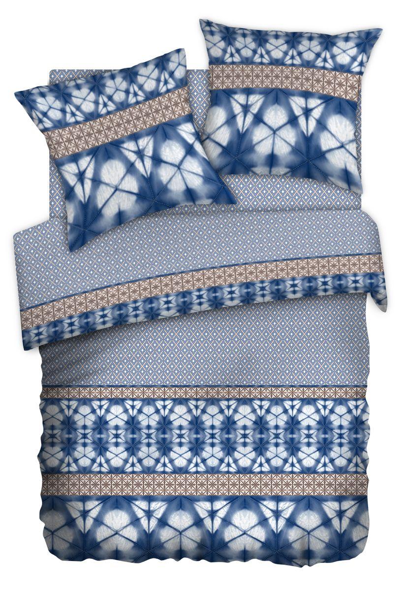 Комплект белья Carte Blanshe Shibori, 2-х спальное, наволочки 70x70, цвет: серый. 333476333476Коллекция эксклюзивного постельного белья, созданная итальянскими дизайнерами прекрасного старинного городка Италии — Riva del Gard. Постельное белье выполнено из великолепной ткани премиум — класса «Percale Soft Touch». Эта ткань произведена из 100% натурального хлопка имеет специальную обработку «Wise Silk», которая придает дополнительную гладкость и шелковистость ткани. Благодаря специальной обработке ткань более приятная на ощупь, практически не мнется.
