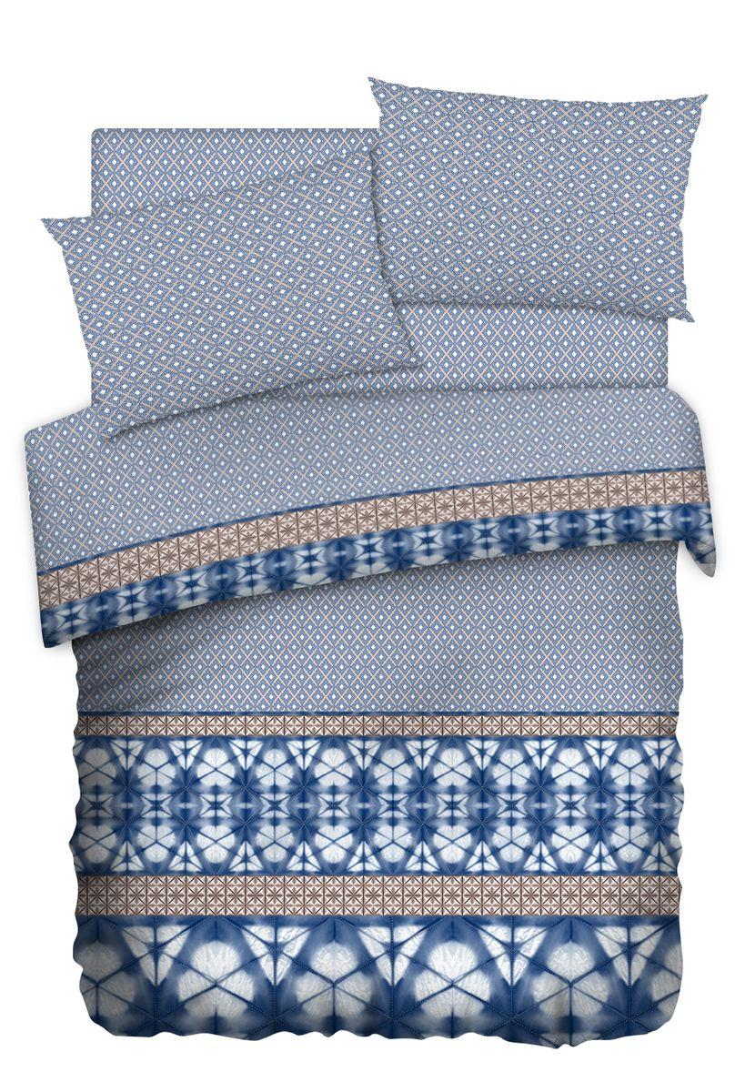 Комплект белья Carte Blanshe Shibori, 2-х спальное, наволочки 50x70, цвет: серый. 333467333467Коллекция эксклюзивного постельного белья, созданная итальянскими дизайнерами прекрасного старинного городка Италии — Riva del Gard. Постельное белье выполнено из великолепной ткани премиум — класса «Percale Soft Touch». Эта ткань произведена из 100% натурального хлопка имеет специальную обработку «Wise Silk», которая придает дополнительную гладкость и шелковистость ткани. Благодаря специальной обработке ткань более приятная на ощупь, практически не мнется.