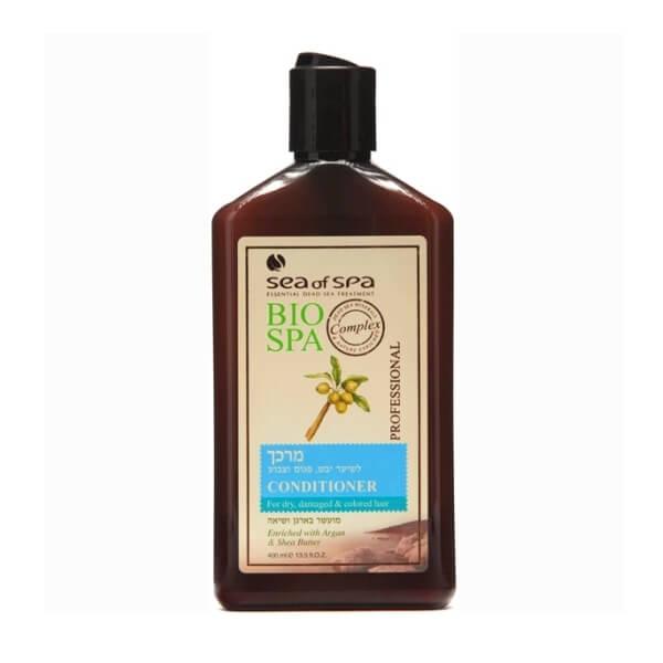 Sea of Spa Кондиционер для окраш/поврежденных волос с маслом Аргании и Ши, 400 мл6200- защищает волос от попадания в его структуру пигментов краски, которые разрушают его; - оживляет блеск волос, защищает от вымывания и выгорания цвета окрашенных волос; - минералы укрепляют и защищают от ломкости; - не утяжеляет прическу: волосы послушные и легкие.
