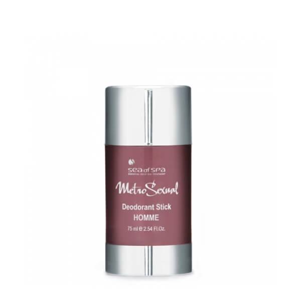 Sea of Spa Дезодорант-стик длительного действия, 75 мл62067- защищает от пота и запаха до 24 часов; - ухаживает за кожей: смягчает, убирает раздражения; - быстро впитывается и не оставляет следов на одежде; - имеет ненавязчивый мужской парфюмированный аромат.