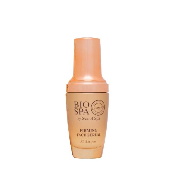 Sea of Spa Сыворотка укрепляющая для лица, 50 мл6333- восстанавливает синтез коллагена, делая кожу упругой; - укрепляет овал лица, имеет легкий эффект подтяжки; - витамины, заключенные в микрогранулы имеют максимально выраженный оздоравливающий эффект; - в жаркое время года может использоваться без крема.