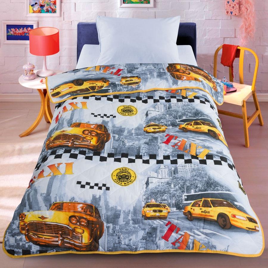 Letto Покрывало-одеяло детское Letto цвет желтыйsp32-140Легкое оригинальное покрывало в чехле будет радовать вашего малыша в течение всего года. Сидеть на таком покрывале будет приятно и комфортно - ведь оно выполнено из 100% хлопка. К тому же одеяло можно использовать и как одеяло на детскую кровать. Наполнитель - силиконизированное волокно. Вашему ребенку не будет жарко под таким одеялом, а это значит от не будет раскрываться. Оно подлежит машинной стирке при температуре 30 гр., строго на деликатном режиме.
