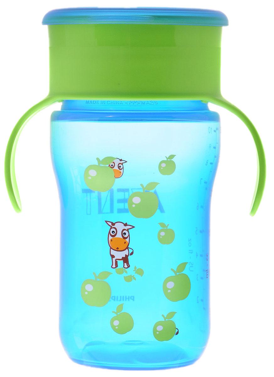 Philips Avent Взрослая чашка, 340 мл, 18м+, 1 шт синий 340 мл SCF784/00SCF784/00Чашка-поильник Avent выполнена из безопасного материала и оформлена яркими рисунками. Малыш сможет пить самостоятельно, нажимая губами на край чашки. Клапан с быстрым потоком идеален для растущих детей. Мерная шкала поможет точно определить оставшееся в поильнике количество жидкости. Шкала обозначена до 300 мл. Бутылочка оснащена эргономичными ручками. Плотно закрывающаяся крышка предотвращает проливание жидкости. Чашку-поильник Avent удобно брать с собой на прогулку и в дорогу.